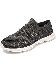 Ranberone Ademende lage sneakers voor heren Lichtgewicht instap sneakers