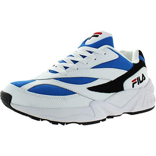 Fila Venom Zapatillas para Hombre, (Negro, Blanco, Azul (White/Blue/Black)), 40 EU