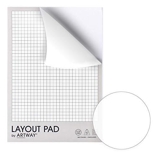 Artway - Bloc cuadriculado - 60g/m² - 35 hojas - A3