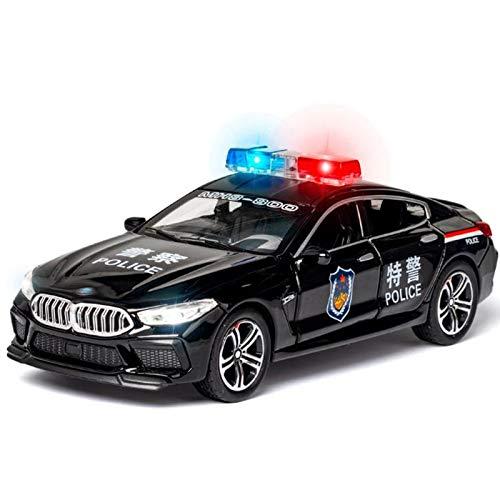 Maquetas de coches Nuevo 1:32 Modelo De Coche De Aleación De Policía Diecast Y Vehículos De Juguete Coches De Juguete Juguetes Para Niños Regalos Para Niños Juguete Para Niños
