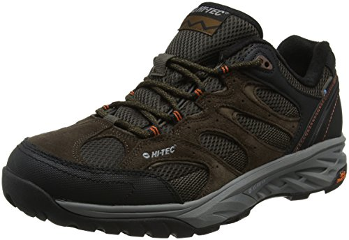 Hi-Tec Wild-Fire Low I Waterproof, Zapatillas de Senderismo para Hombre, Marrón (Chocolate/Burnt...