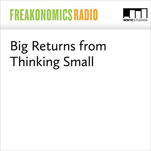 Big Returns From Thinking Small audiobook cover art
