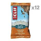 CLIF BAR - Sweet & Salty Energy Bars - Caramel Toffee with Sea Salt - (2.4 Ounce Protein Bars, 12 Count)