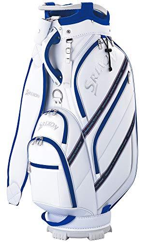 ダンロップ(DUNLOP) スリクソン キャディバッグ メンズ スポーツモデル ホワイト 9.5型 GGC-S165 ゴルフバック