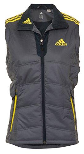 adidas PL Damen Ski/Wander/Outdoor Weste, Grau, Gr��e 36