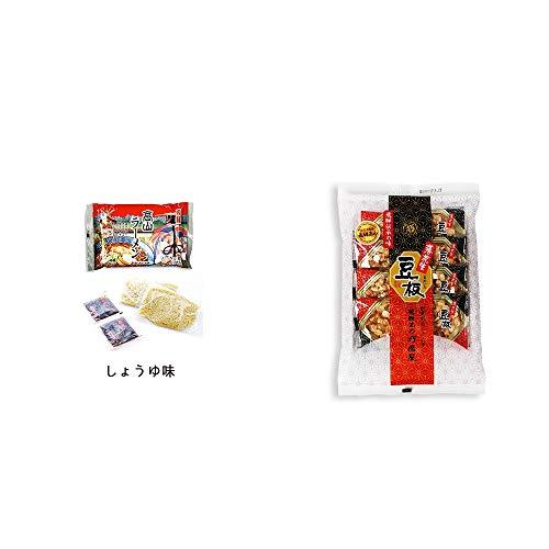 [2点セット] 飛騨高山ラーメン[生麺・スープ付 (しょうゆ味)]・飛騨銘菓「打保屋」の駄菓子 豆板(8枚入)