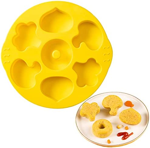 Blest Silicone Vegetable Mold for Baking Full Size Cakes or Baby Foods Non Stick Bakeware Biscuit product image