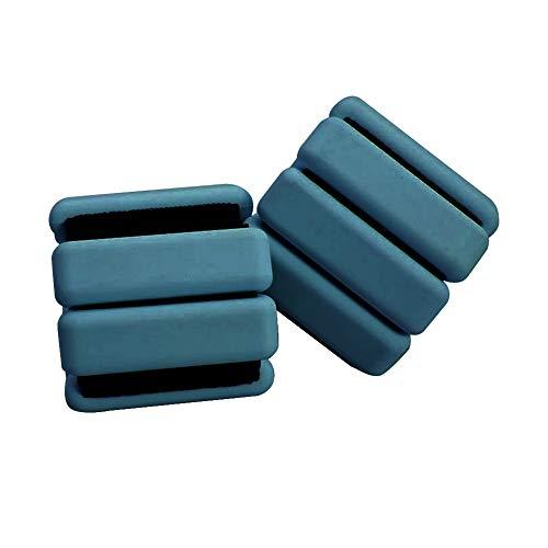 Sunronal Gewicht tragendes Armband Verstellbare haltbare Armbänder mit Handgelenkgewicht Knöchelgewichtsring Intensivieren Sie Fitness Bewegung GehenJoggen 2-TLG