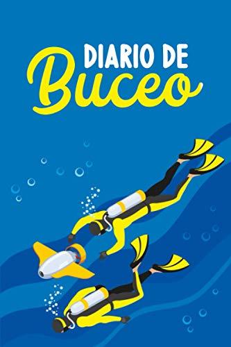 Diario de Buceo: DIVE LOG | CUADERNO DE REGISTRO DETALLADO PARA BUCEADORES | Cuaderno de inmersión