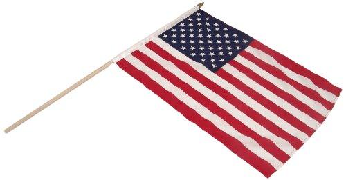 US Flag Store uns Stick Flagge 12von 18auf 24Holz Stick