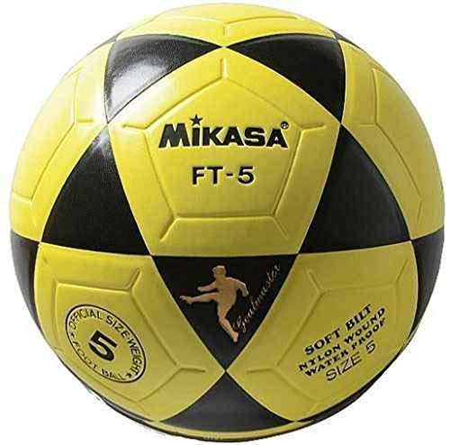MIKASA Ft-5, Pallone Calcio Unisex, Giallo, 5