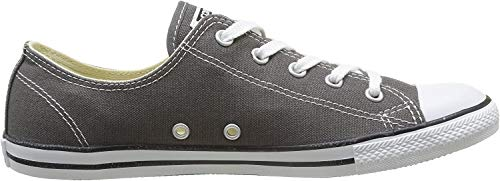 Converse Damen All Star Dainty Ox Sneaker, Grau (Anthracite), 37 EU