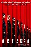 OCEAN'S 8 – Sandra Bullock – Swedish Movie Wall Poster