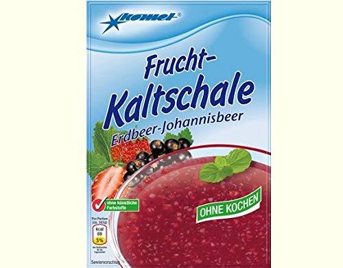 Kaltschale Erdbeer Johannisbeer Komet ohne Kochen - DDR Kultprodukte