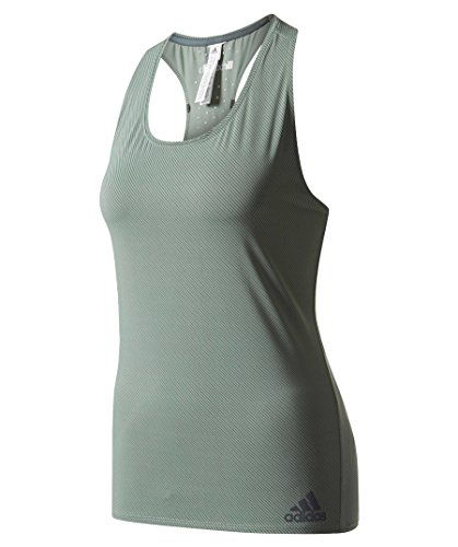 adidas Damen Cap CHILL TAN1 Shirt, Grün/Vertra, M