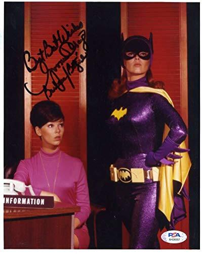 Yvonne Craig PSA DNA Cert Signed 8x10 Batgirl Photo Autograph
