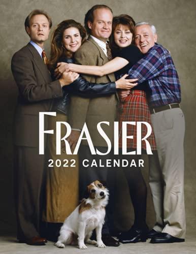 "Frasier 2022 calendar: 12 Month Calendar Planner, 8.5"" × 11"", Premium Paper, Blank Block with Dates."