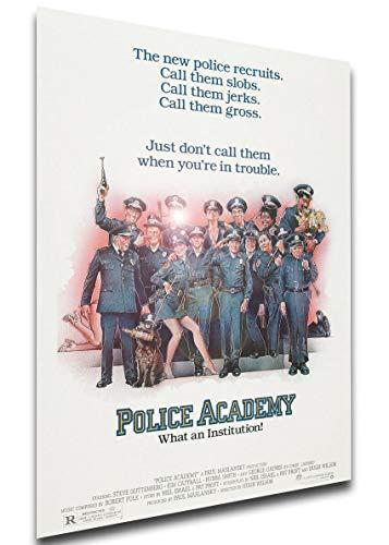 Instabuy Poster Locandina - Police Academy - Scuola di Polizia (1984) Manifesto 70x50cm