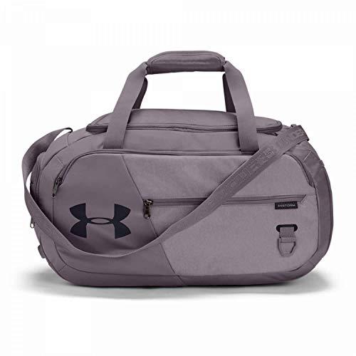 Under Armour Undeniable Duffle 4.0 bolsa de deportes, bolsa de entrenamiento unisex, Lila (Slate Purple/Slate Purple Medium Heather/Black(585)), S