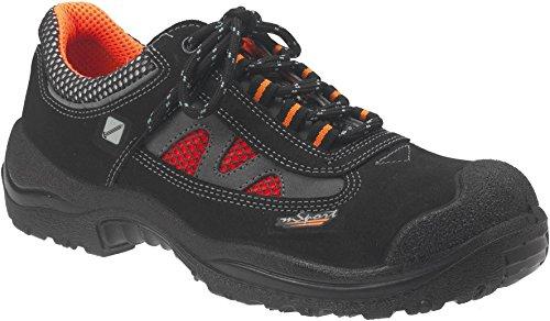 JALAS® Herren Sicherheitsschuh S3 ESD schwarz-orange-45