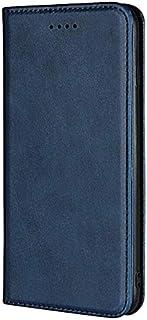 جراب جلدي بمحفظة قابلة للطي لهاتف Honor 9X Lite من Kaiyue - أزرق