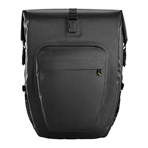 For Sale! Jdeepued Bike Bag 20L Waterproof TPU Bike Trunk Bag Clip-On Quick Release Bicycle Commuter...