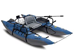 Colorado XTS assembled size: 108 inches L x 56 inches W x 28 inches H (to top of seat), Weight: 80 lbs Boat and oars disassemble into a compact size for easy transport and storage Two-year limited warranty Heavy-duty pontoons with abrasion resistant ...