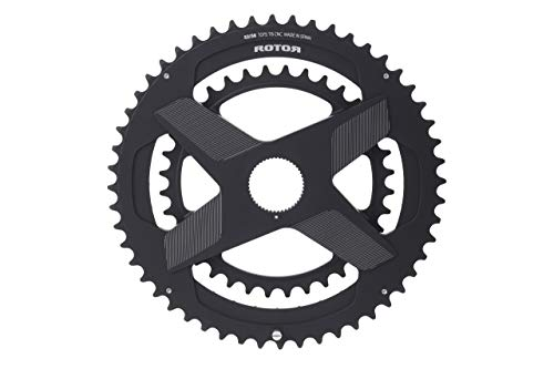 R ROTOR BIKE COMPONENTS DM Round Ring 52/36 Black