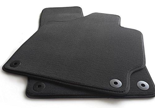Fußmatten, passend für TT 8J, Automatten Premium Qualität Velours, anthrazit 2-teilig vorn