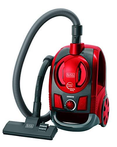 BLACK+DECKER Aspirador de Pó com Sistema Ciclônico Preto e Vermelho 2000W 220V A6