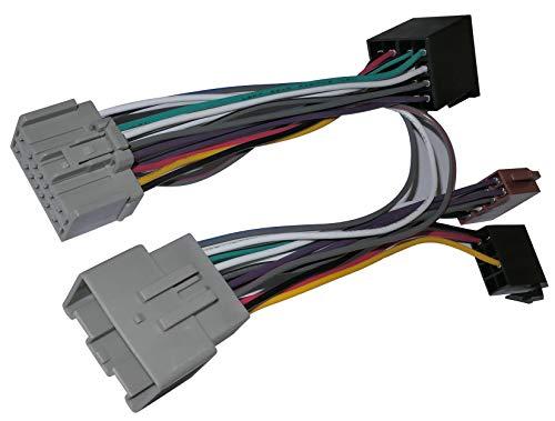 AERZETIX: Câble Faisceau Autoradio pour Parrot KML Kit Mains Libres pour Auto Voiture C12167