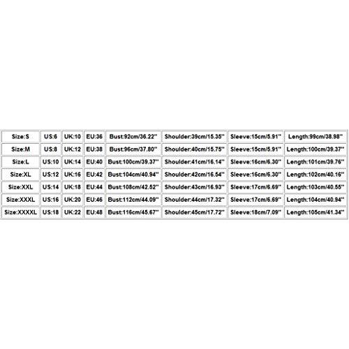 Vestidos Verano Mujer Elegantes Vestidos Cortos con Estampados de Rayas/Floral Sin Mangas Cuello en V, Suelto Casual Chaleco Falda de Playa Vestidos de Fiesta Noche Tallas Grandes(H Azul Oscuro,L)