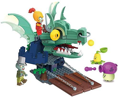 ADIE 2021 Plantas vs Zombies Set Dark Dragon Guard Girl Future World World Blocks Compatible con Lago Lepining Friends Regalo an (Color : PVZ-050362 No Box) (Color : PVZ-050361 No Box)