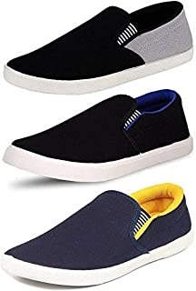 CLYMB Perfect Combo Pack of 3 Sneakers Shoes for Men