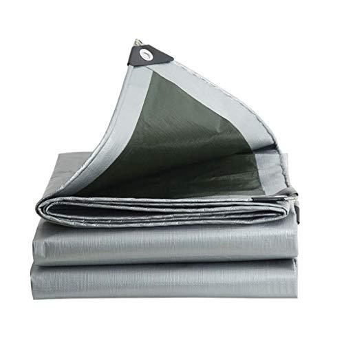 ZZR Waterproof Tarps Cover, Waterproof Poly Tarp,Anti-Tear Rain,Snowproof, Windproof, Rainproof,Dustproof,for Tarpaulin Canopy Tent, Boat, Pool Cover Shelter