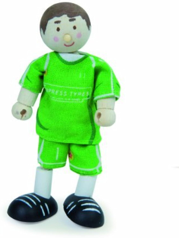Budkins Goal Keeper Toy Figure, Green by Budkins