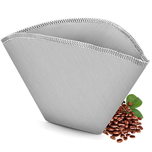 Eco-Sopure #2 Reusable Permanent Cone Coffee Filters, Perfect Fit Cuisinart DCC-450...