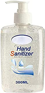 KIW Advanced Instant Hand Sąni-tizer, Antibąctériąl Gel, Rinse-Free Hand Wash Liquid, Portable Disinféctánt Moisturizing Sánitizér Large Capacity 300ML