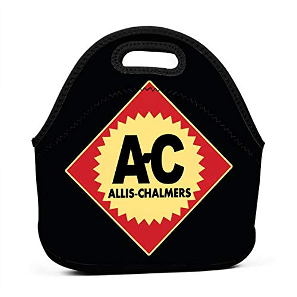 Lightweight Insulated Neoprene Lunch Tote Bag, Allis Chalmers Logo