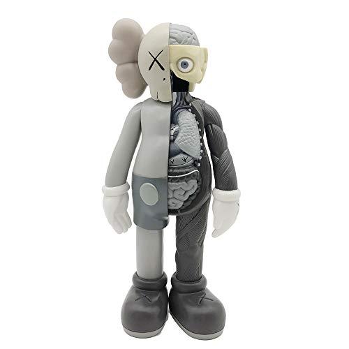 MATECam 20CM Figura KAWS Originale Companion KAWS Cartoon Art Statues Originale KAWS Art Toys Action Figure Ornamenti Decoracion Presente Regalo Giocattolo (Type 3)