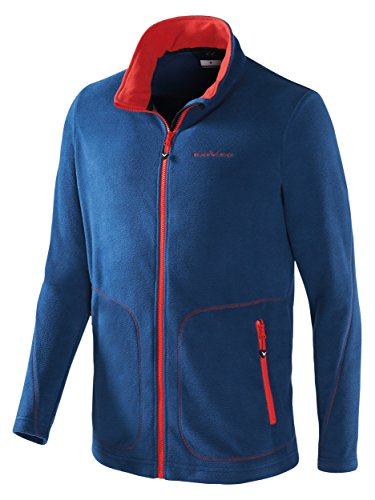Black Crevice Herren Fleecejacke, Blau, XL/54