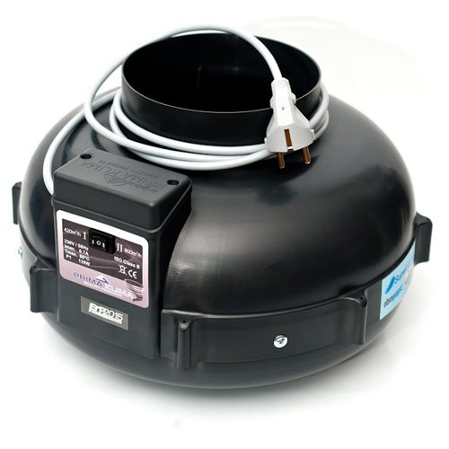Extracteur d'air UFO RVK Prima Klima 420-800 m³/h 160mm (PK160 MES-2)