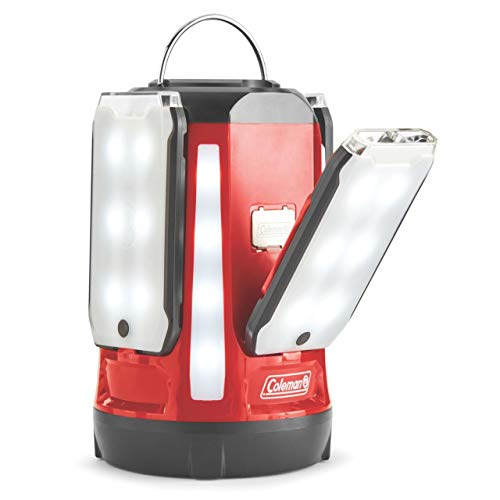 Coleman Quad Pro 800 L LED Laterne, rot