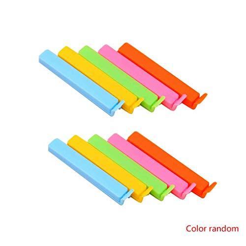 PRENKIN 10 PCS Clips plástico Colores Brillantes
