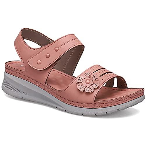 ZYGF Damen-Sandalen, Sandalen für Frauen, EVA-Sohle, leicht, verschleißfest, Damen-Gleit-Sandalen, wasserdicht, für Strand, Pool, Kreuzfahrt, Reisen