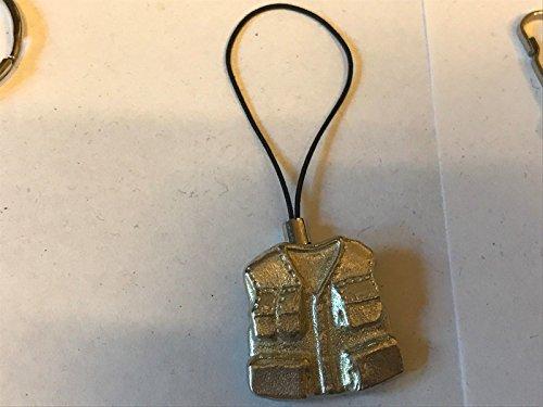 Vlieg Vissen Vest Jas Angler TG26A Gemaakt Van Modern Engels tinnen Mobiele Telefoon charme gepost door ons geschenken voor alle 2016 van DERBYSHIRE Verenigd Koninkrijk.