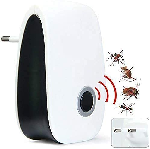 M&J Ultrasonic Pest Repeller to Repel Rats, Cockroach, Mosquito, Home Pest & Rodent Repelling Aid for Mosquito, Cockroaches, Ants Spider Insect Pest Control Electric Pest Repelling