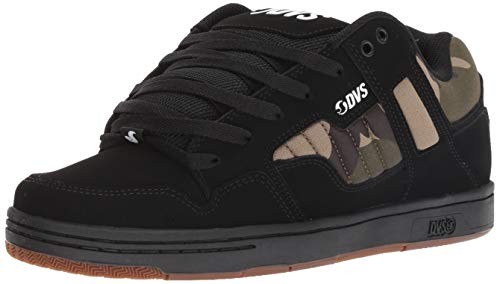 Scarpa DVS Jason Anderson Enduro 125 - Signature Series Nero Camo Leather (EU 41 / US 8, Nero)