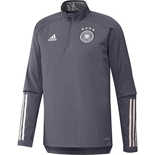 adidas Herren DFB Warm Top Sweatshirt, Onix, S