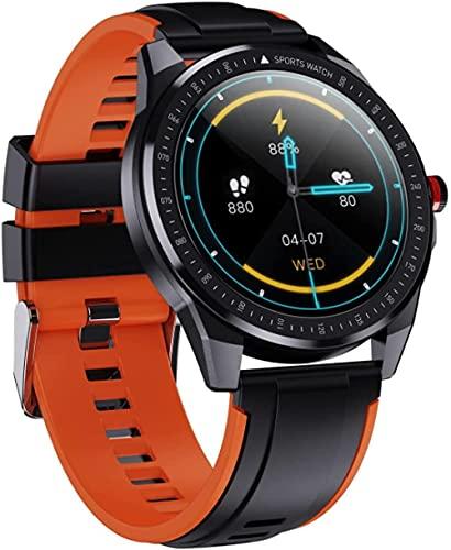 Reloj inteligente fitness pulsera IP68 impermeable bluetooth llamada hombres y mujeres podómetro correa desmontable